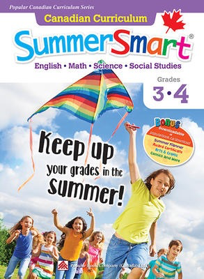 Popular Canadian Curriculum #4: Canadian Curriculum SummerSmart 3-4: Refresh skills learned in Grade 3 and prepare for Grade 4