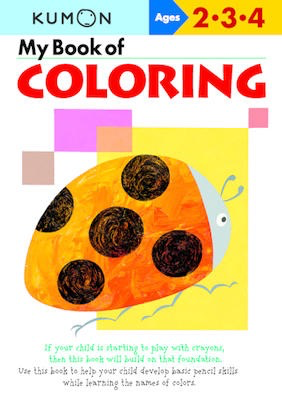 My Book of Coloring: Ages 2-3-4