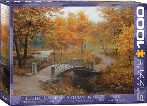 Autumn in an Old Park: 1000 Pieces Puzzle