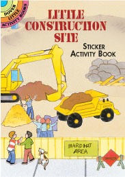 Little Construction Site Sticker Book