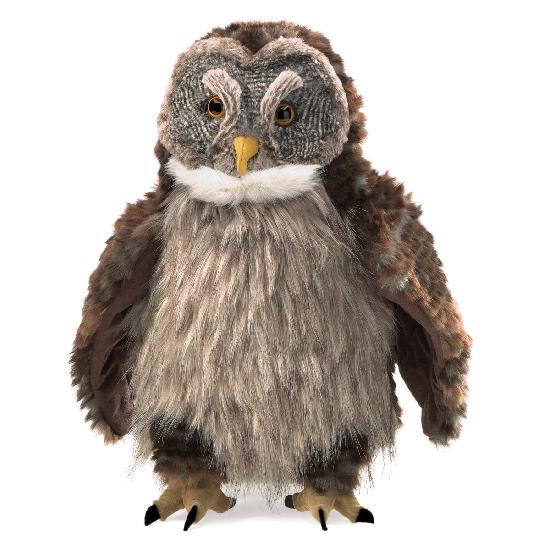 Hooting Owl Puppet
