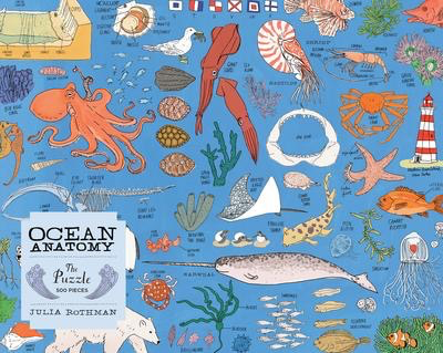 Ocean Anatomy: the Puzzle - 500 pieces