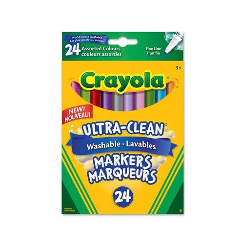 Ultra-Clean Washable Markers 24ct