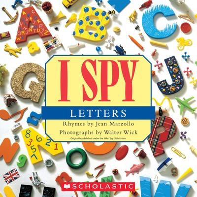 I Spy Letters