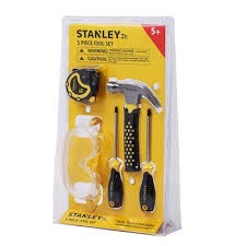 Stanley Jr. 5 pieces tool set
