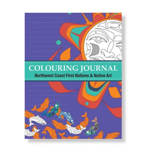 Northwest Coast First Nations & Native Art Colouring Journal