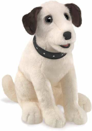 Sitting Terrier Puppet