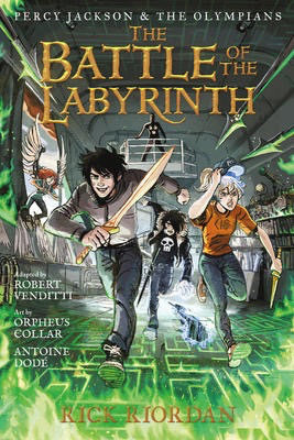 Percy Jackson and the Olympians #4: The Battle of the Labyrinth: The Graphic Novel