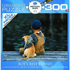 Boy's Best Friend: 300-Piece Puzzle