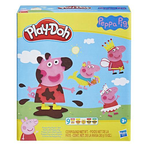 Play-Doh Peppa Pig Stylin' Set