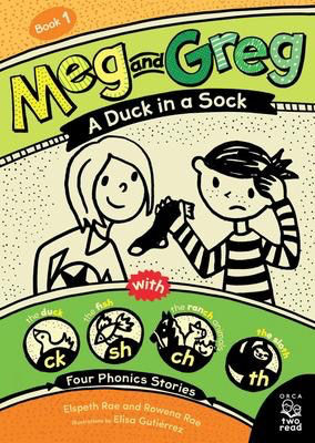 Meg and Greg:  A Duck in a Sack