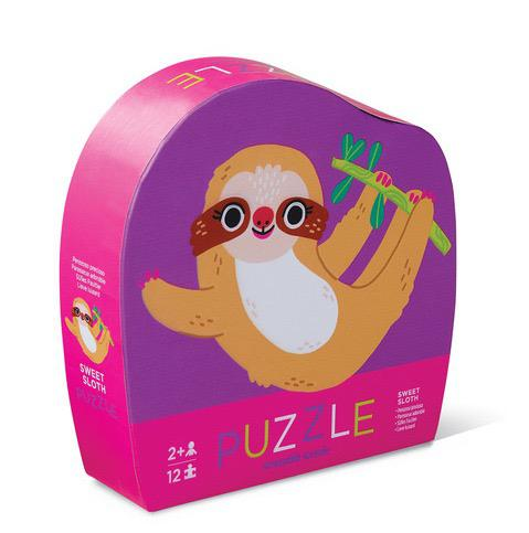 12pc Mini Puzzle - Sweet Sloth
