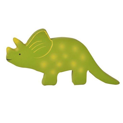 Baby Triceratops - Natural Rubber Toy