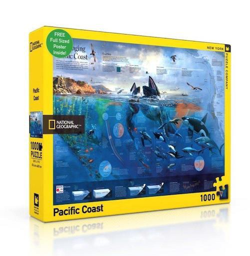 Pacific Coast 1000 pcs (with poster)