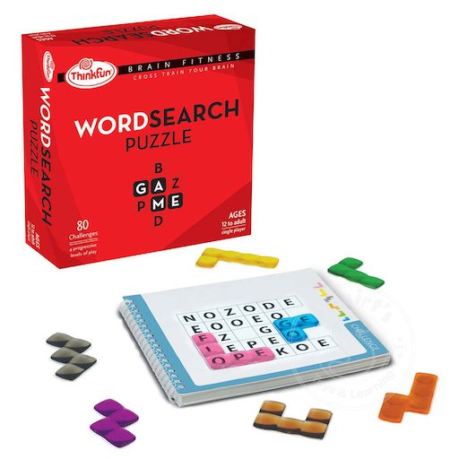 Word Search Puzzle - Brain Fitness