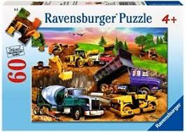 Construction Crowd: 60-Piece Puzzle