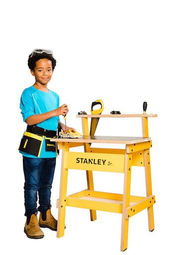 Stanley Jr. - Kids' Work Bench with Tools