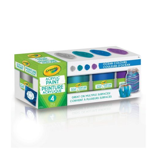 Acrylic Paint Set - Ocean Colours - non washable