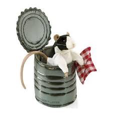Rat In Tin Can Hand Puppet