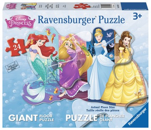 Disney Princesses Giant Floor Puzzle 24 pc
