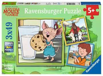 Give Mouse a Cookie: Mouse and Friends 3 x 49pc