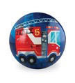 Fire Truck Playball 4""
