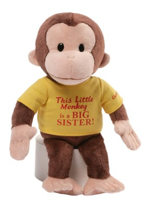 "Curious George 12"" Big Sister"