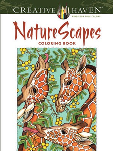 NatureScapes Coloring Book