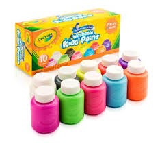 Kids' Washable Neon Paint - 10ct