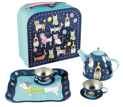 Tin Tea Party Set - Pets