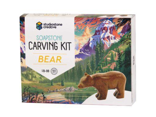 Soapstone Carving Kit - Bear