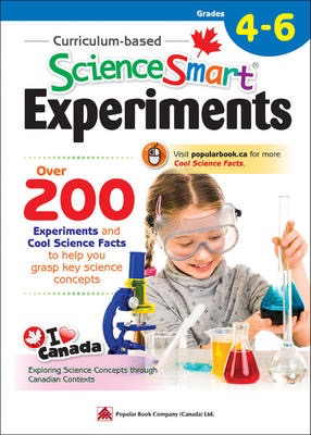 Popular Smart Reference Series: Curriculum-based ScienceSmart Experiments Grades 4 - 6