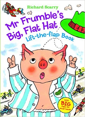 Mr. Frumble's Big Flat Hat lift-the-flap Book