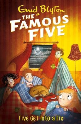 Famous Five #17: Five Get Into A Fix