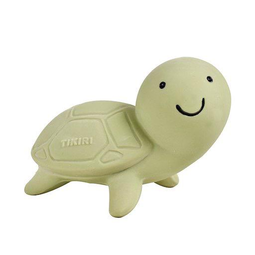Turtle — Natural Rubber Rattle