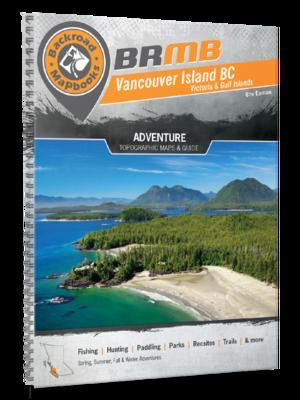 Vancouver Island BC Backroad Mapbook: 8th Edition