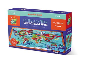 100pc Discover Puzzle - Dinosaurs