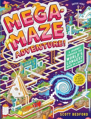 Mega-Maze Adventure!: A Journey Through the World's Longest Maze in a Book