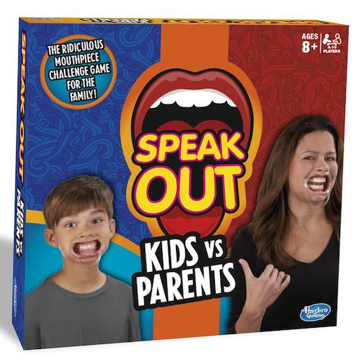 Speak Out Kids VS Adults Game