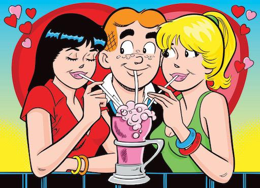 Archie: Love Triangle 500pc