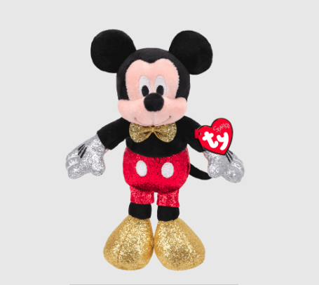 TY: Mickey Mouse Super Sparkle Red