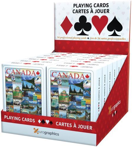 Travel Canada Playing Cards