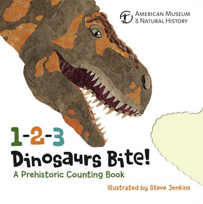1-2-3 Dinosaurs Bite: A Prehistoric Counting Book
