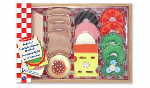 Wooden Sandwich Making Kit