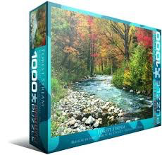 Forest Stream: 1000-Piece Puzzle