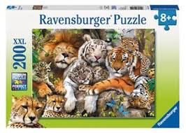 Big Cat Nap - 200 pc Puzzle