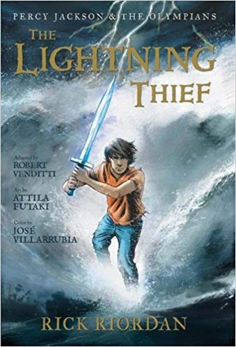 Percy Jackson and the Olympians #1: The Lightning Thief (Graphic Novel)