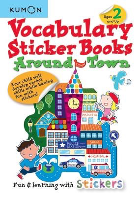 Vocabulary Sticker Books: Around Town