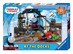 Thomas and Friends: At the Docks: 35-Piece Puzzle