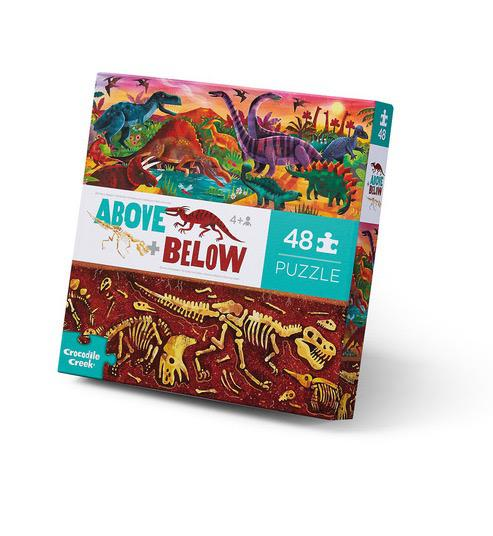 48pc Above and Below - Dinosaur World